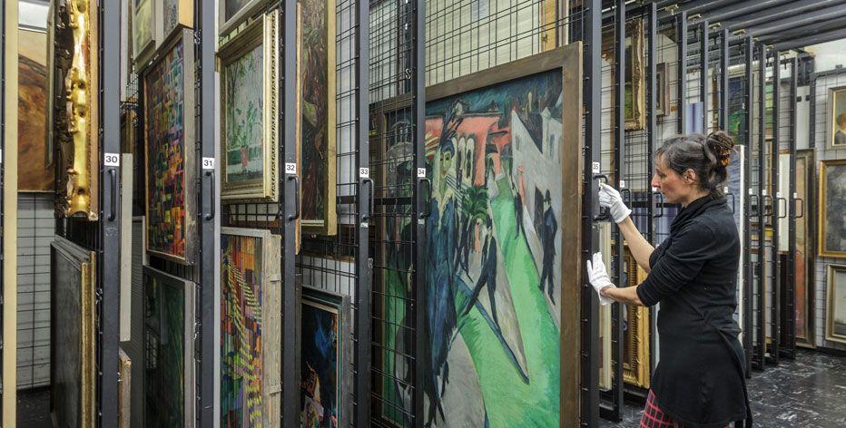 Ein Teil Der Sammlung Der Nationalgalerie Zur Klassischen Moderne Wird Auch  Im Museumsneubau Zu Sehen Sein